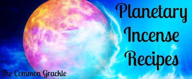 Planetary Incense Recipes
